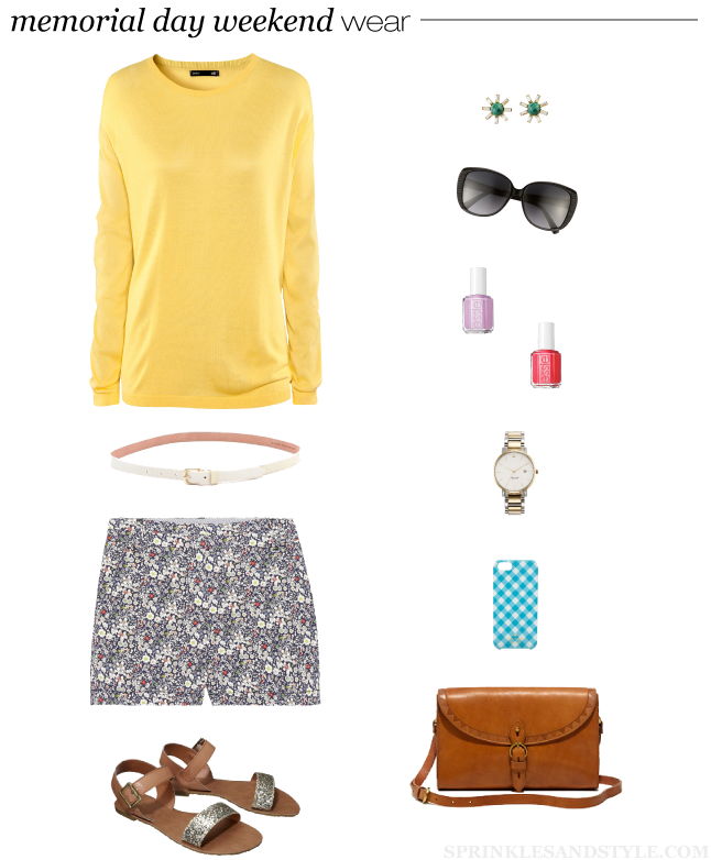 Friday's Fancies: Memorial Day Weekend Wear || Sprinkles and Style