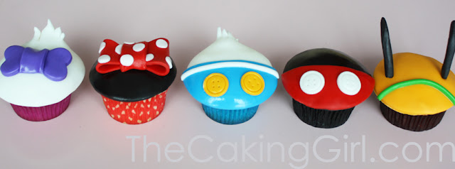 mickey mouse cupcakes minne mouse cupcakes