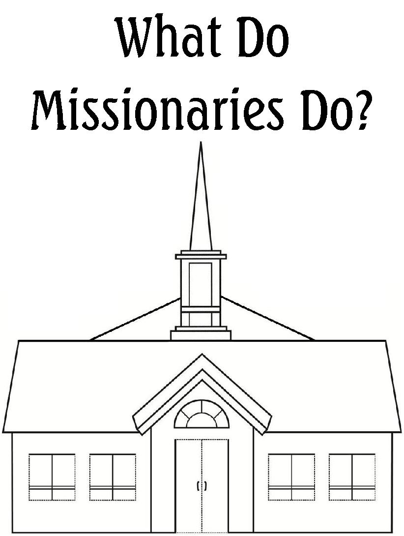 missions coloring pages - photo#7