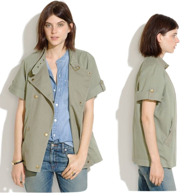 Madewell Sahara Short Sleeve Jacket