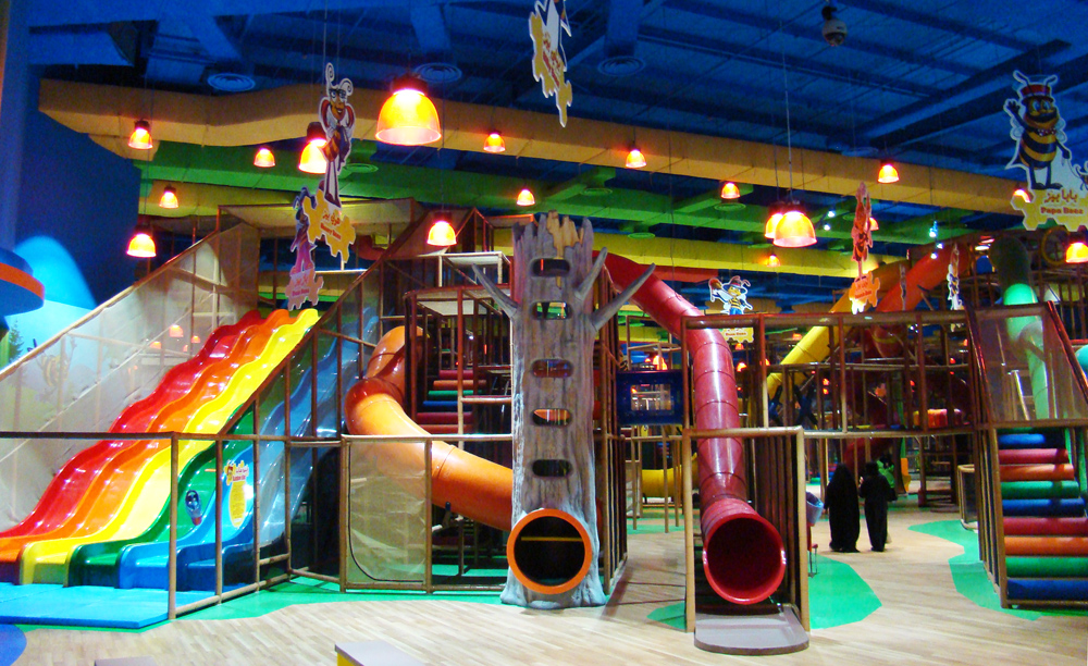 Indoor playground equipment by iplayco for Best indoor playground for toddlers