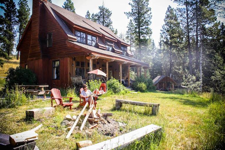 Black Pine Ranch, Ranch Life, Beyond the blue Umbrella