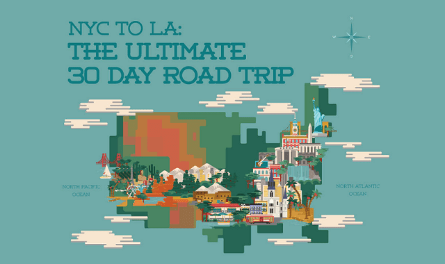 NYC to LA: The Ultimate 30 Day Road Trip