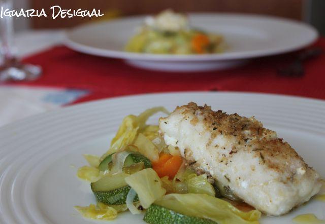 Peixe+no+forno+com+tomilho+estufado+legumes
