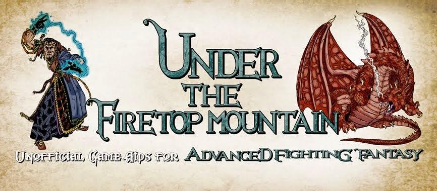 Under the Firetop Mountain