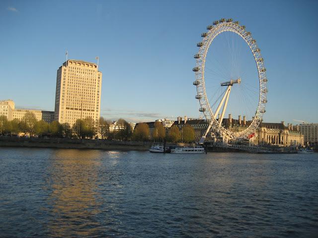 View London Eye Hispaniola restaurant
