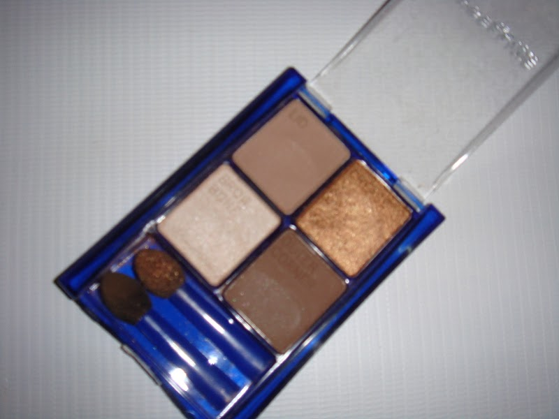 Indian Beauty Central: MAYBELLINE EXPERTWEAR EYESHADOW QUAD-CHAI LATTE