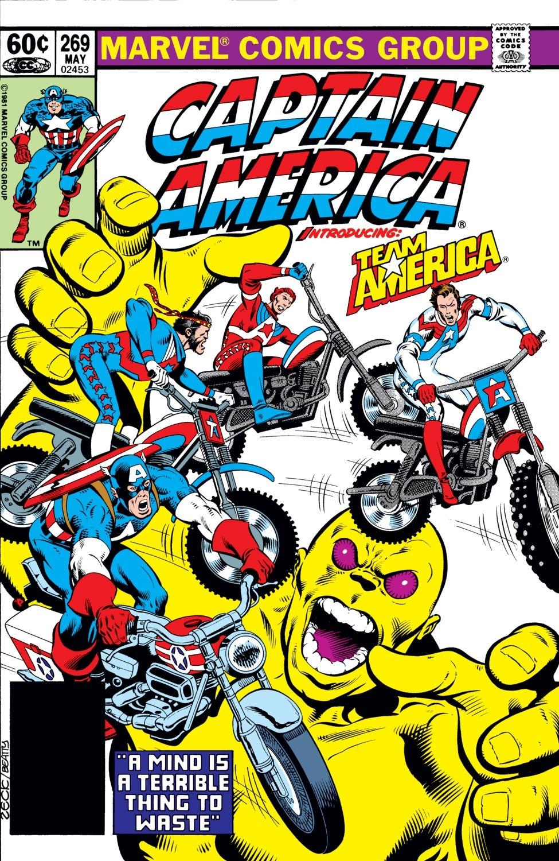 Captain America (1968) Issue #269 #185 - English 1