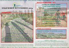 Calendario de actividades del grupo de Montaña