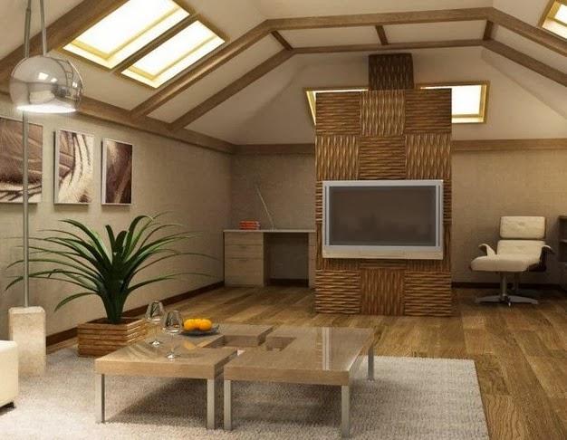 Дизайн мансардного этажа фото