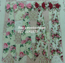 Frame Ribbon kain tebal (standard panjang 25inci), RM28 sepasang