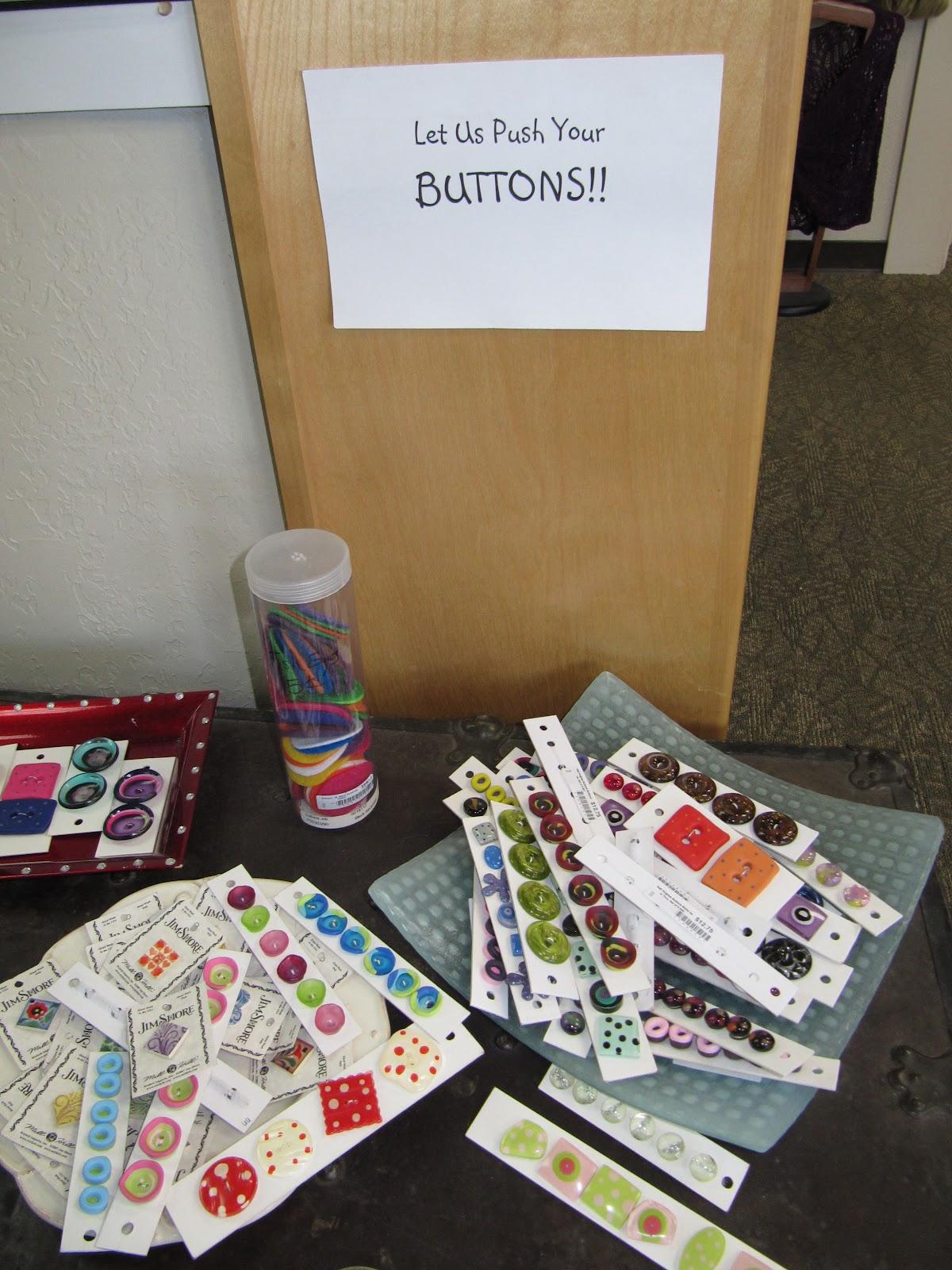I Push My Own Buttons Middleford Yarn Amp Stitchery