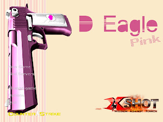 X-Shot Pink Deagle Background 2