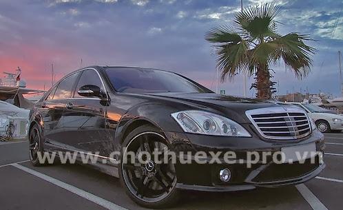 Cho thuê xe Mercedes S65 AMG hạng sang