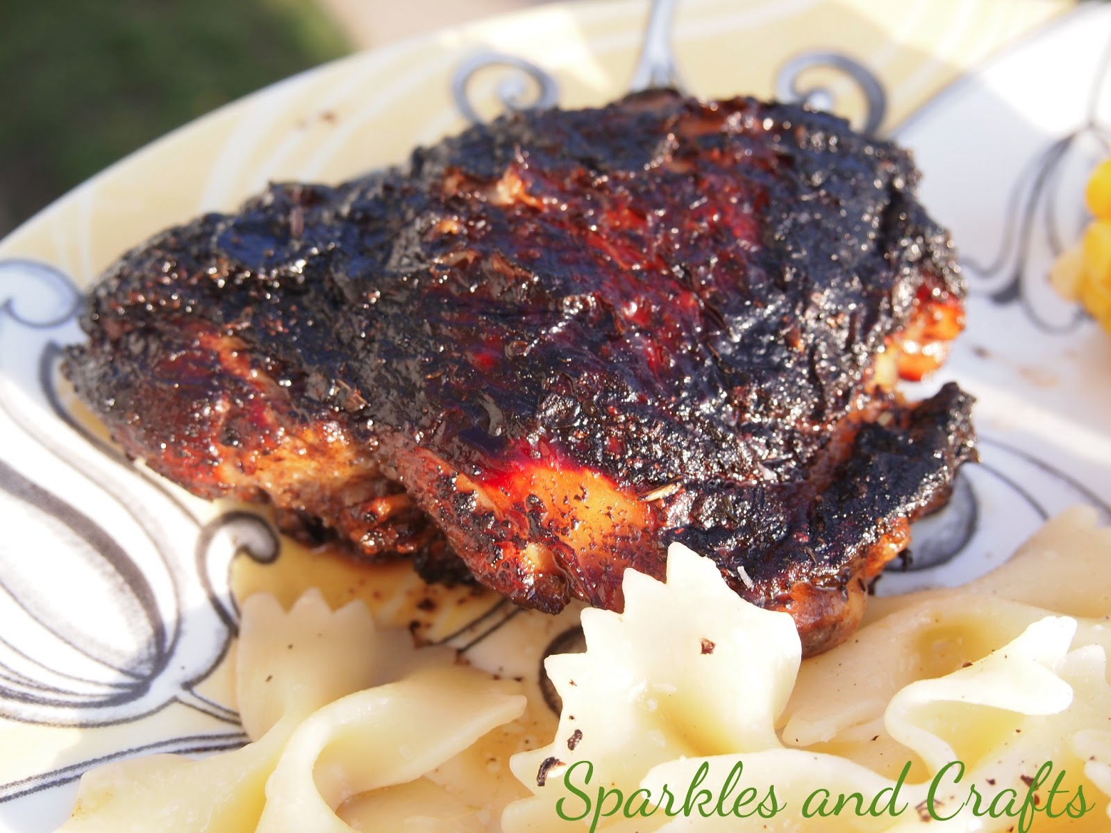 Braised Balsamic Chicken ~ Sparkles & Crafts