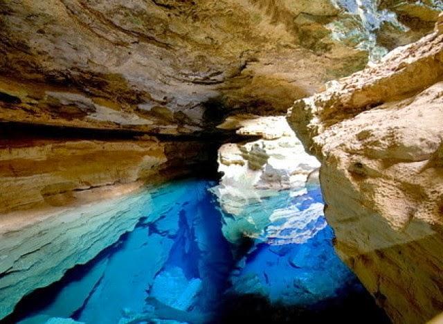 Il Pozzo Azzurro della Chapada Diamantina a Bahia, Brasile