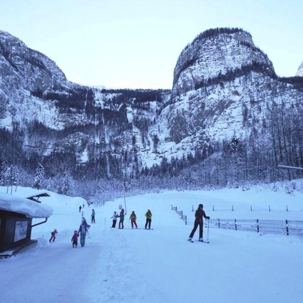 kayakçılar iniş noktasında..