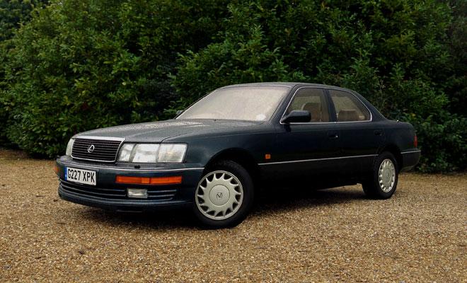 1990 Lexus LS400 UK