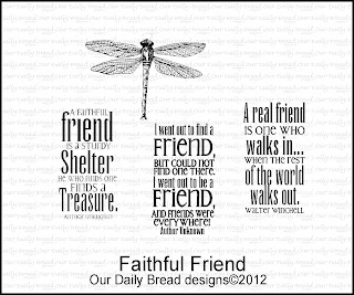 Our Daily Bread designs stamps, Faithful Friend