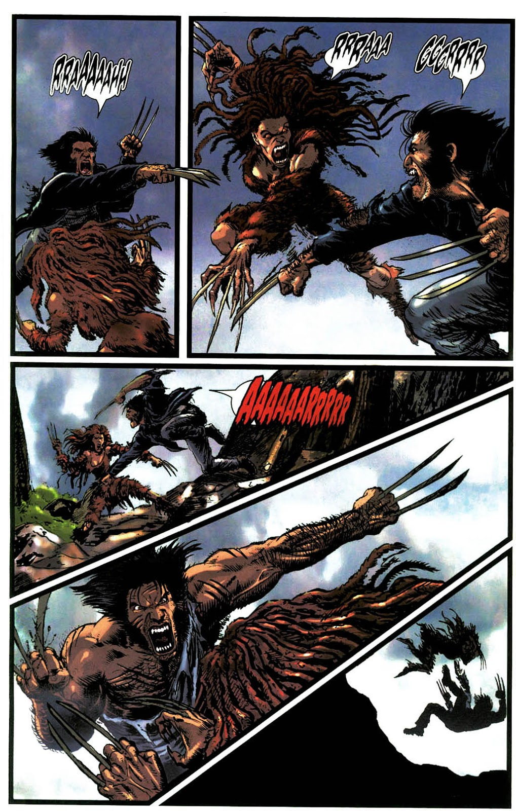 Read online Wolverine (2003) comic -  Issue #14 - 22