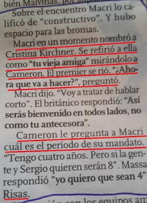 CRISTINA KIRCHNER, CRISTINA