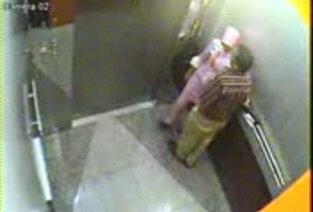 Rakaman CCTV Wanita Bertudung Buat Projek 6 Gambar