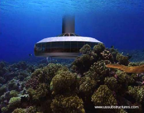 Arquitectura de casas casa de lujo submarina en el caribe - Casas en el mar ...