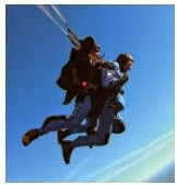 The 93 year p;d British man jack Hake Skydives 10,000 ft from a plance with his wife's ashes
