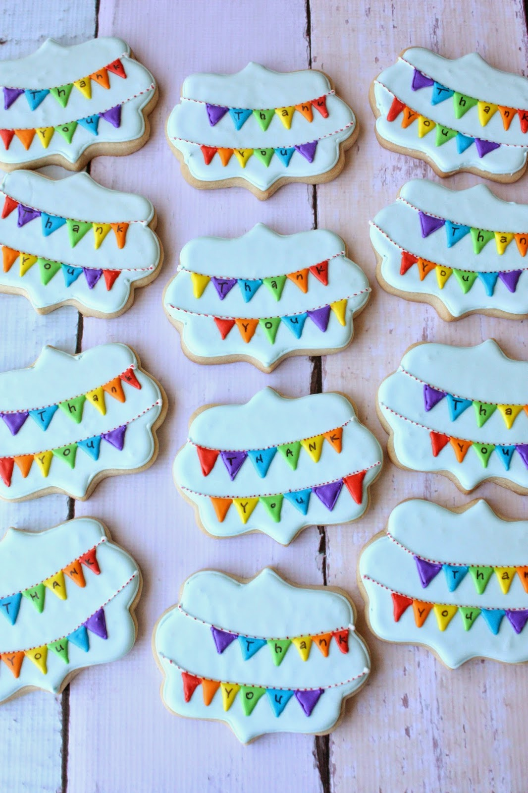 How to Make Cookie Bunting How to Make Cookie Bunting new foto
