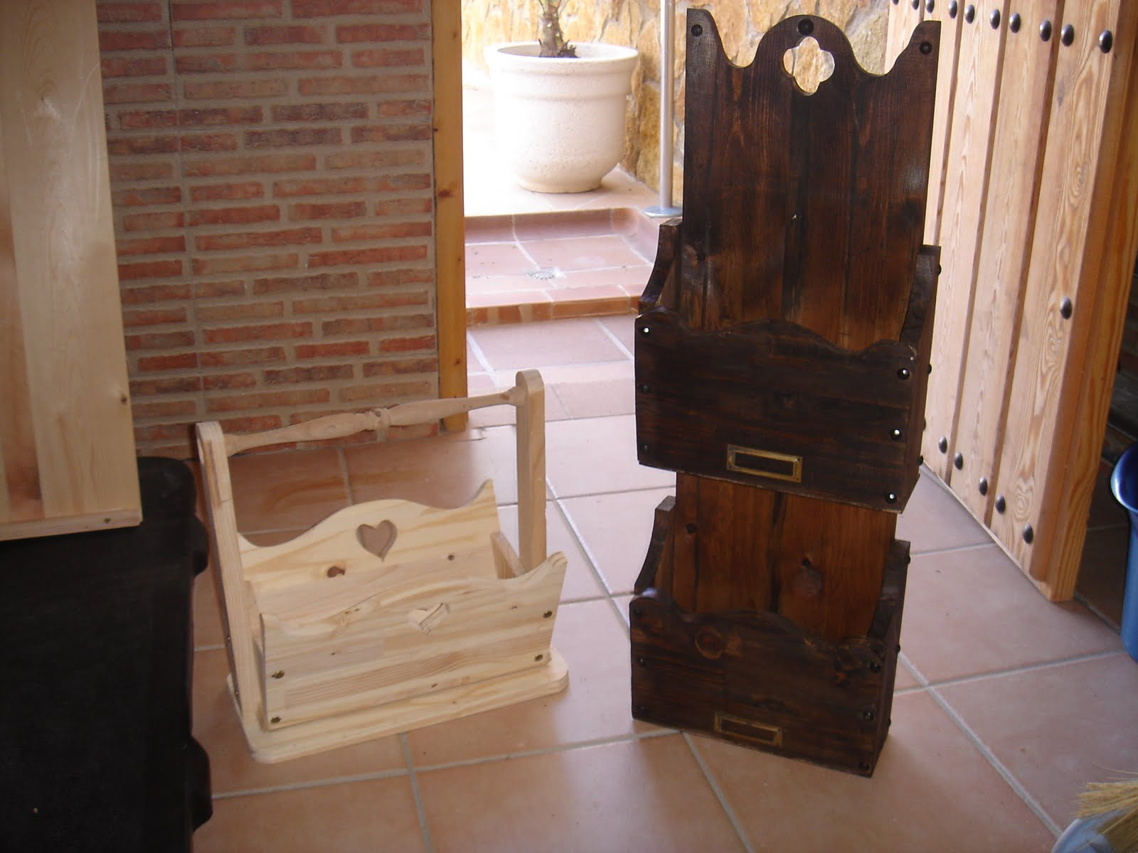 El rinc n del artesano revisteros - Revisteros de pared ...