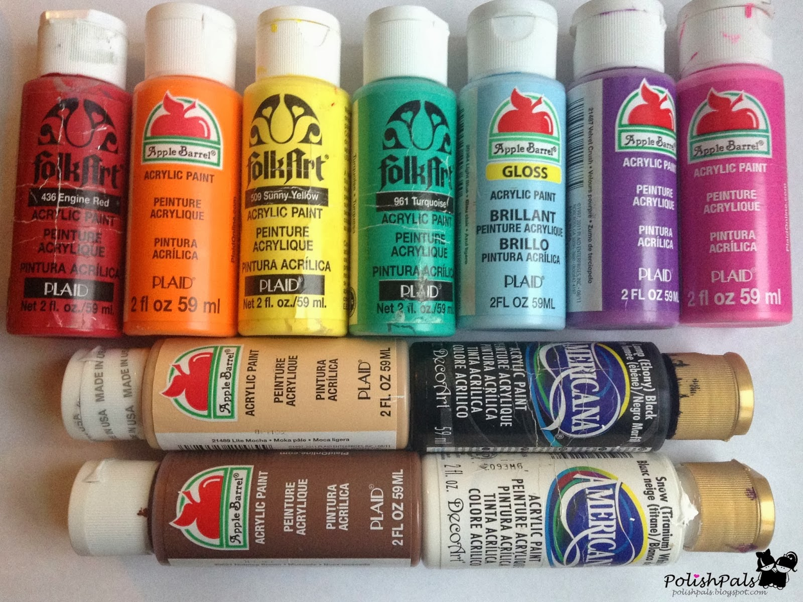 how to look after acrylic paint brushes