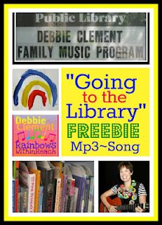 "photo of: Freebie Mp3 copy of ""Going to the Library"" by Debbie Clement"