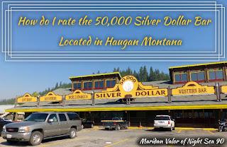 50000 Silver Dollar Bar Review, located in Haugan Montana. Night Sea 90