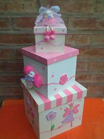 Moldes y figuras de sucha foami cajas decoradas - Cajas infantiles decoradas ...