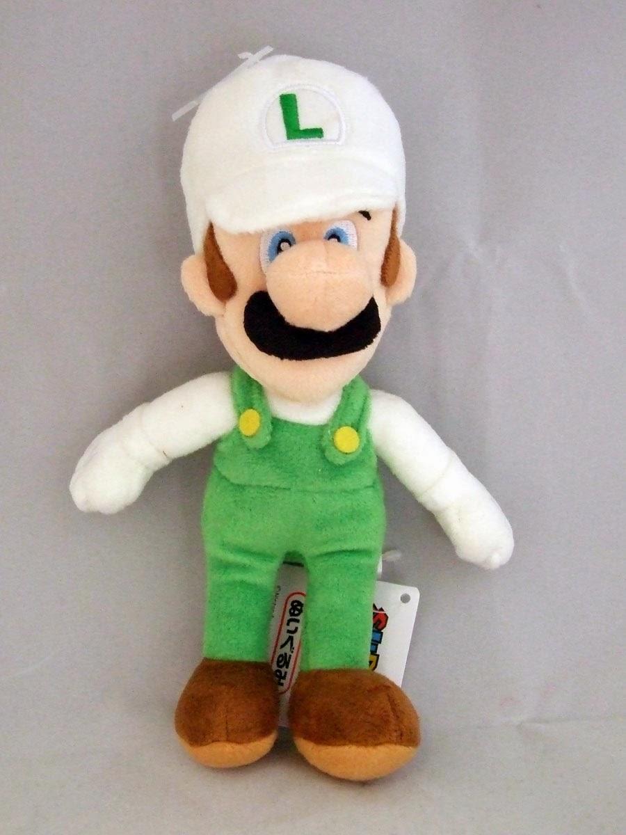 Peluche Luigi de fuego