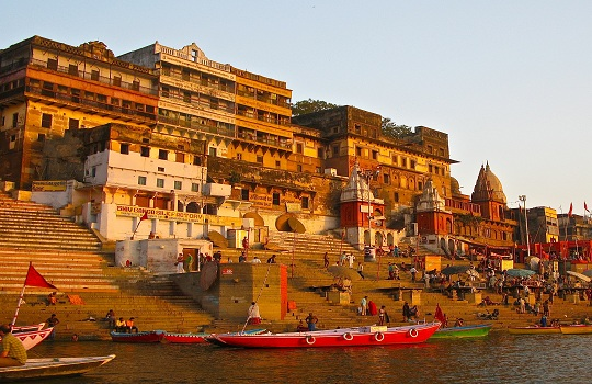 Ghats in Varanasi