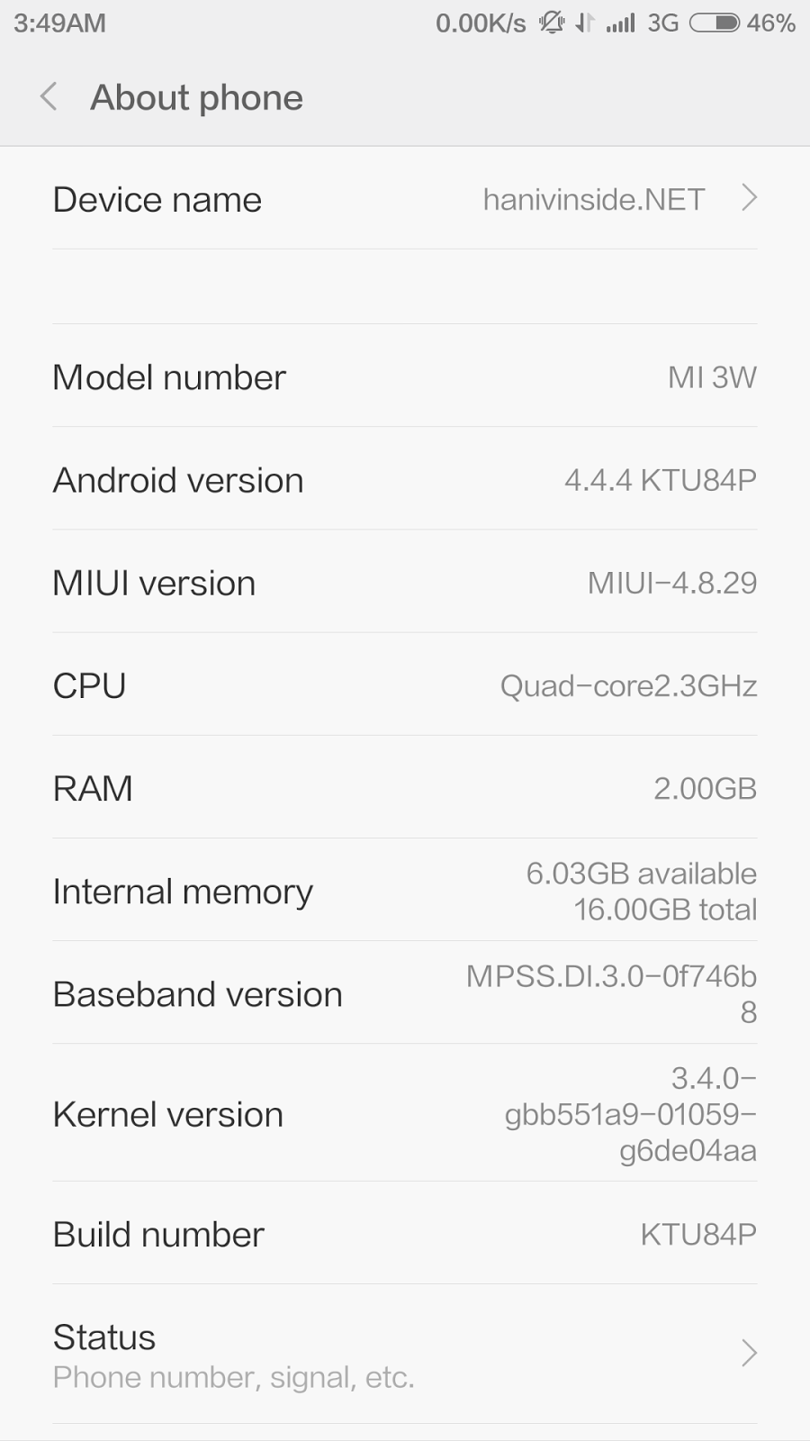 Tutorial cara update MIUI 6