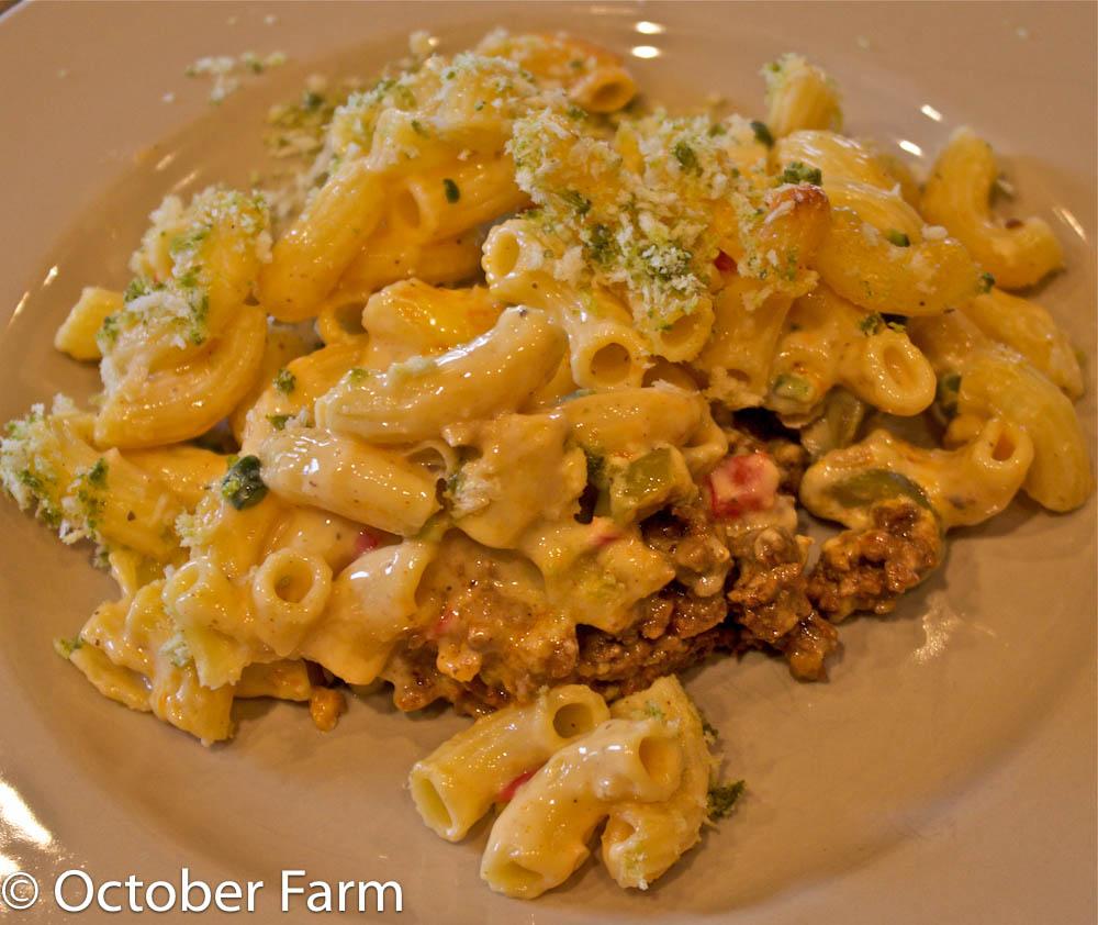 Octoberfarm: Taco Mac and Cheese Recipe