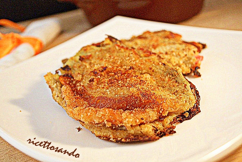 Cardi farciti con prosciutto e  provola ricetta di verdure a forno