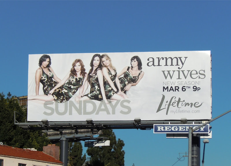 Army Wives 5 TV billboard