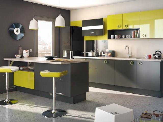 Idee Deco Chambre Bebe Castorama : مطابخ باللون الاخضر ديكورات مطابخ