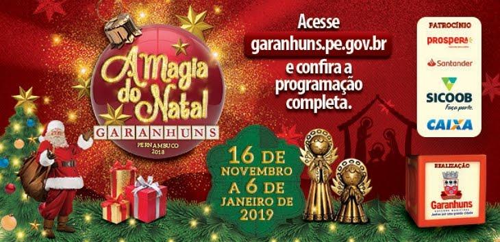 A Magia do Natal 2018