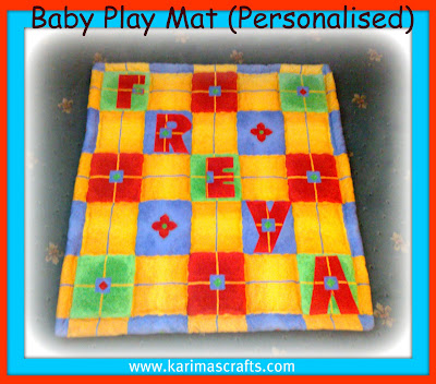 baby playmat upcycle