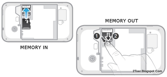 Insert microSD Card and Remove Sony Xperia tipo ST21