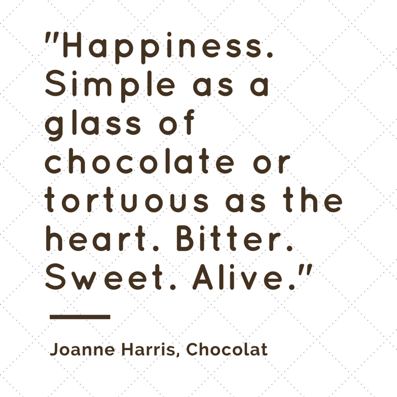 Happiness. Simple as a glass of chocolate or tortuous as the heart. Bitter. Sweet. Alive. | ineedaplaydate.com