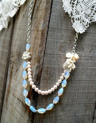 Double Layered Beaded Necklace