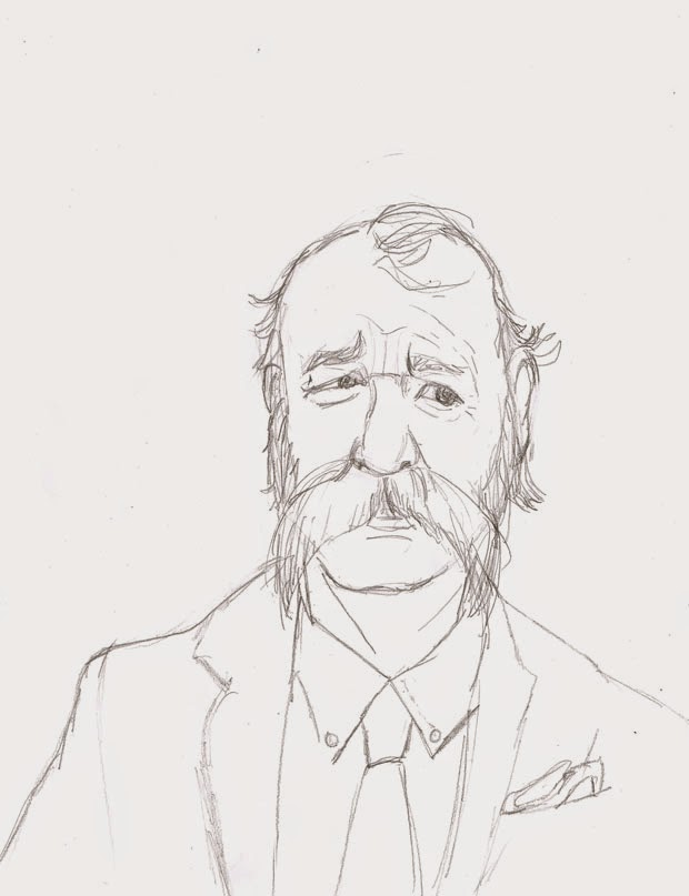 mustache bill 2  - Ben J Hutchison