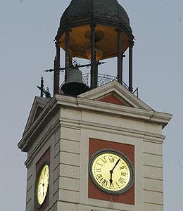 Poe El Reloj De La Puerta Del Sol