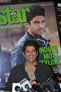 Farhan Akhtar at Starweek Magazine Launch