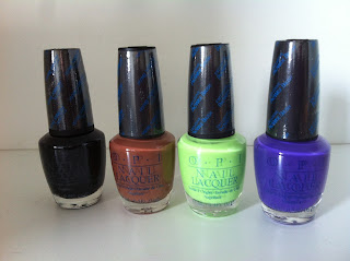 O.P.I Crackeling polishes